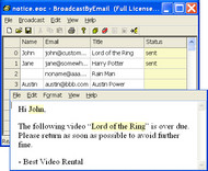 Free Email Marketing: Broadcast By Email screenshot